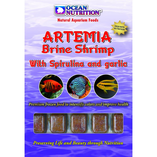 Ocean Nutrition Artemia Brine Shrimp with Spirulina & Garlic