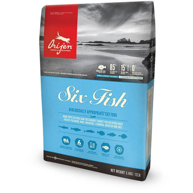 Orijen Six Fish Cat - 1.8kg - Cat Food