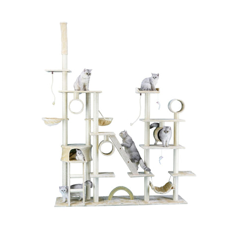 Go Pet Club Four Towers Cat Tree - Scratchers & Poles