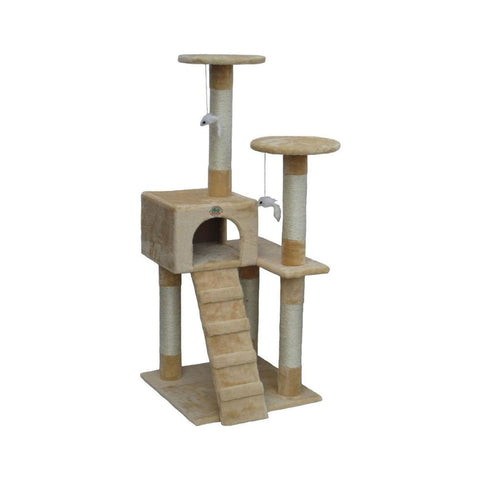 Go Pet Club Two Tower Cat Tree - Scratchers & Poles