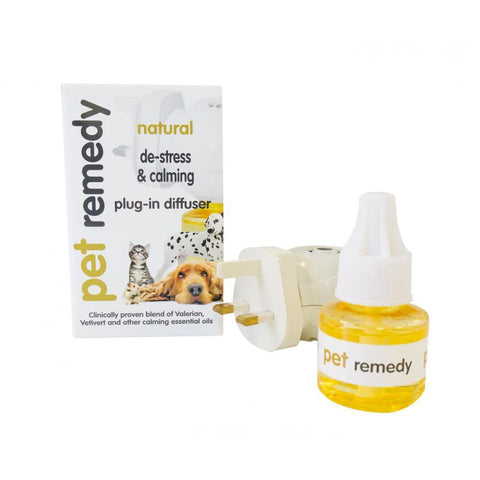 Pet Remedy Plug-In Diffuser Pack (3-pin) - Calming & First