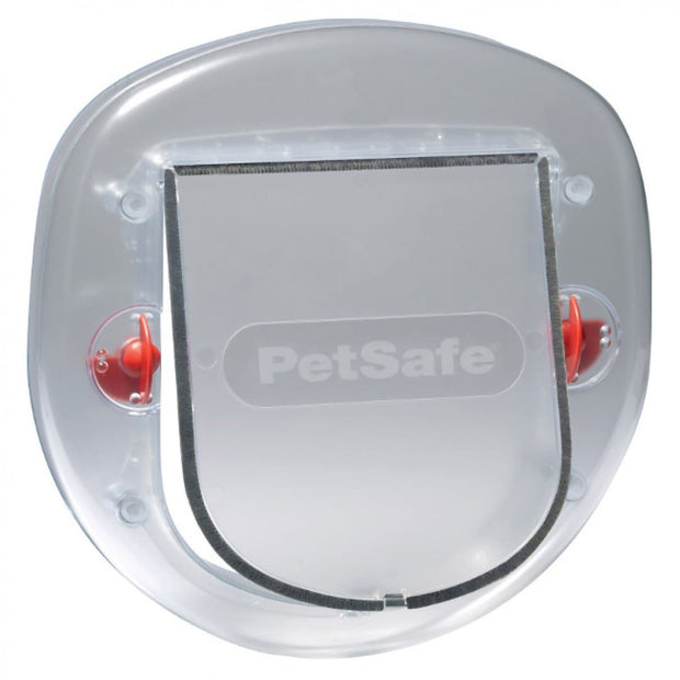 Pet Safe Big Cat Pet Door - Frosted - Beds Crates & Outdoors