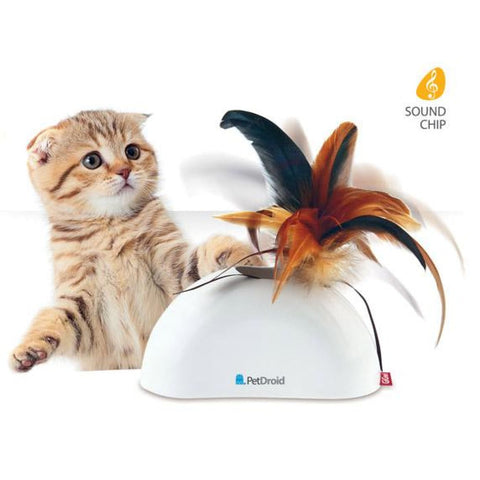 PetDroid Feather Hider - Cat Toys