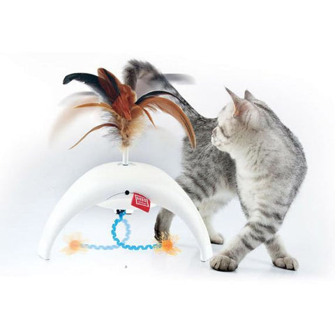 PetDroid Feather Spinner - Cat Toys