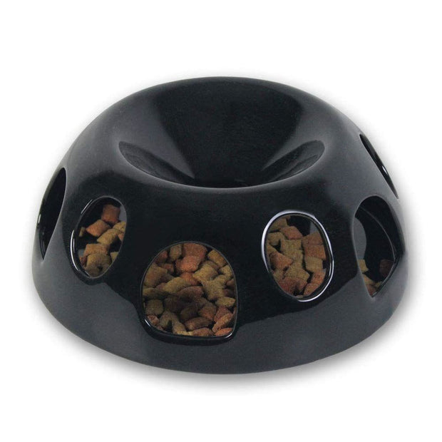 Pioneer Pet Tiger Diner (Portion Control) - Ceramic Black -