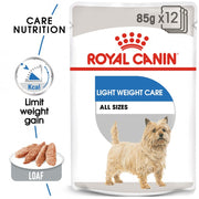 Royal Canin Light Weight Care Wet Food 12x85g (pouches)