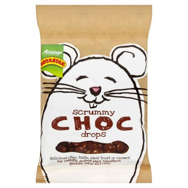 Rotastak Scrummy Choc Drops - Treats & Chews
