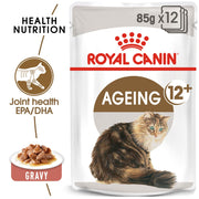 Royal Canin Ageing Cat 12+ Years (12x85g Pouches) - Cat Food