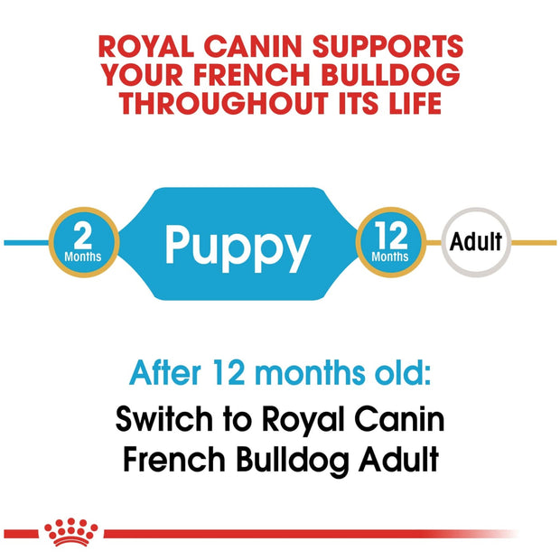 Royal Canin BHN French Bulldog Puppy 3kg - Dog Food