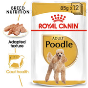 Royal Canin BHN Poodle Wet Food 12x85g (pouches) - Dog Food