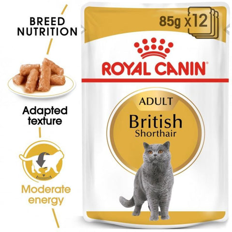 Royal Canin Breed Nutrition - British Shorthair (12x85g