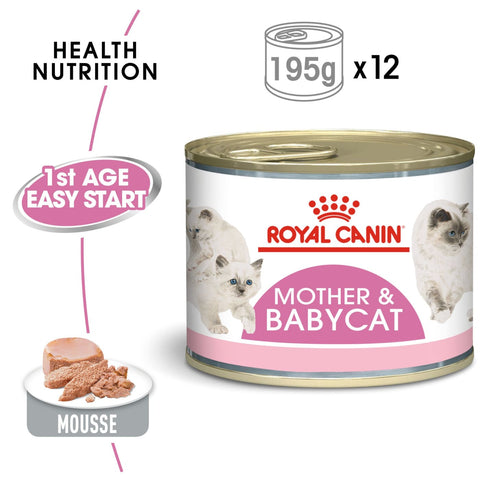 Royal Canin Mother & Babycat Instinctive Mousse (12x195g