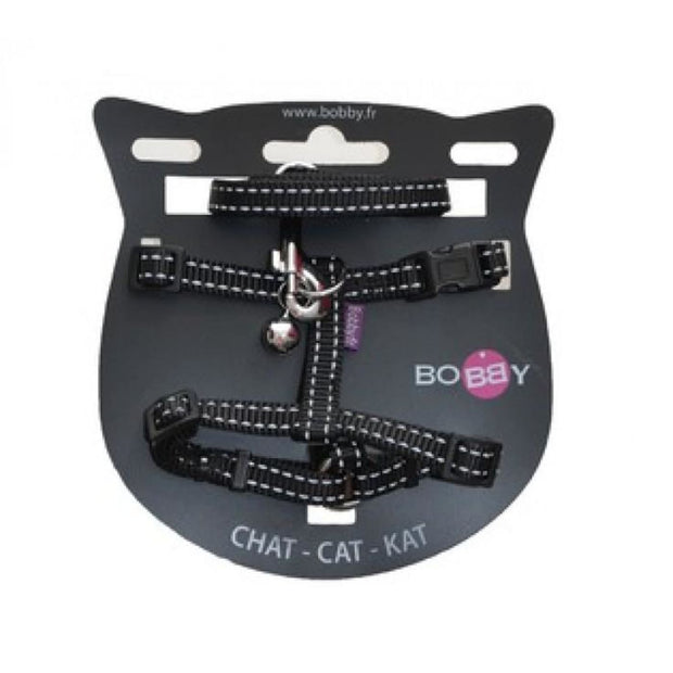 Safe Harness & Lead - Black - Cat Collars & Tags