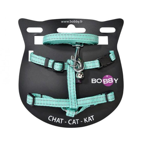 Safe Harness & Lead - Lagoon - Cat Collars & Tags