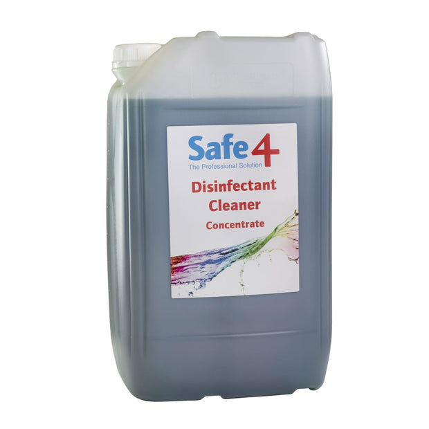 Safe4 Concentrated Disinfectant - Apple 25L - First Aid