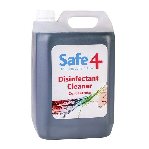 Safe4 Concentrated Disinfectant - Mint 5L - First Aid