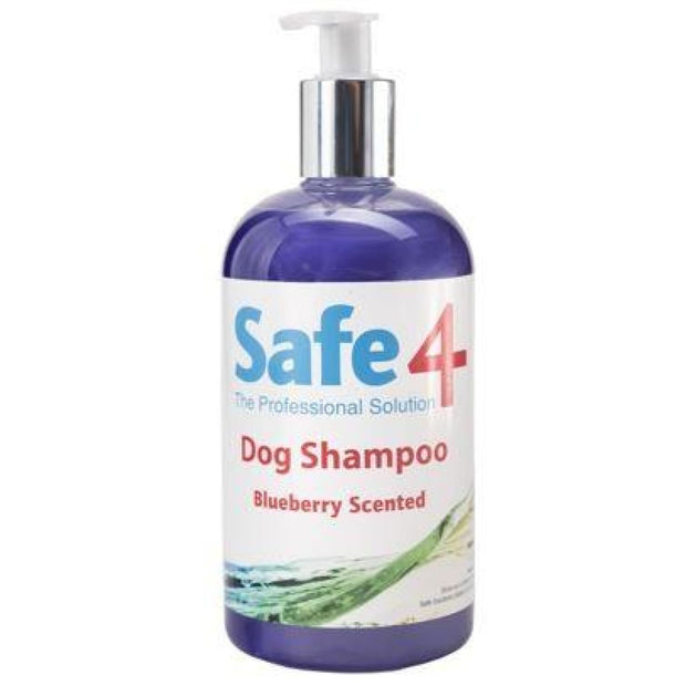 Safe4 Dog Shampoo - Blueberry 500ml - First Aid