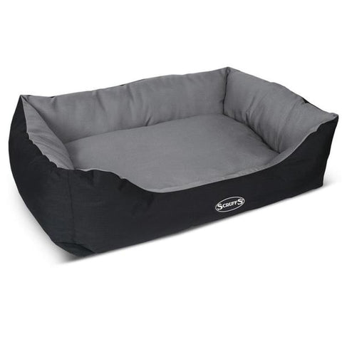 Scruffs Expedition Dog Bed - Grey - Dog Beds