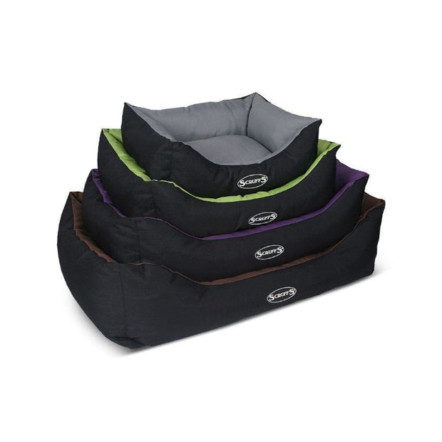 Scruffs Expedition Dog Bed - Lime - Small - Dog Beds