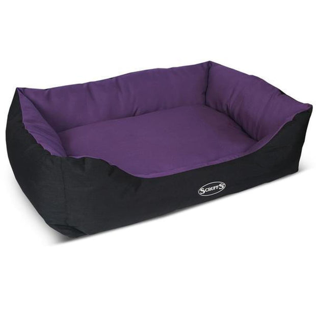 Scruffs Expedition Dog Bed - Purple - Dog Beds