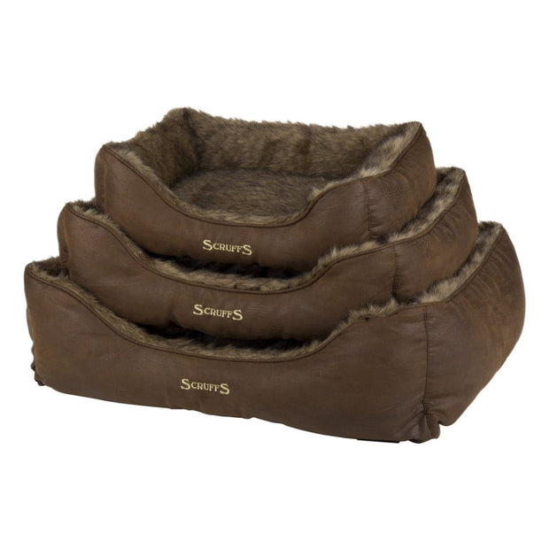 Scruffs Siberian Dog Bed - Timber - Dog Beds