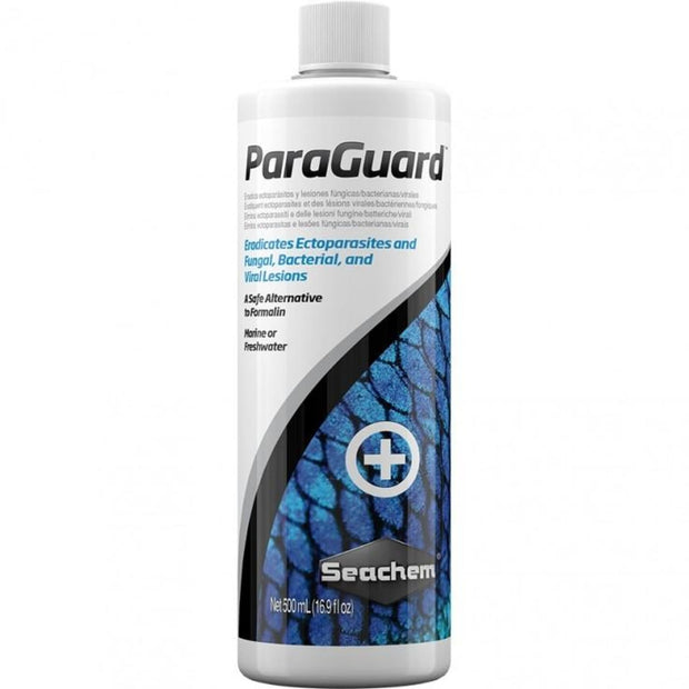 Seachem Paraguard - 500ml - Fish Food & Care