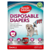 Simple Solution Disposable Diapers for Dogs - Small -
