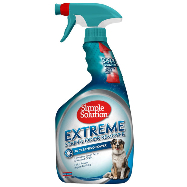 Simple Solution Extreme Stain & Odour Remover for Dogs -
