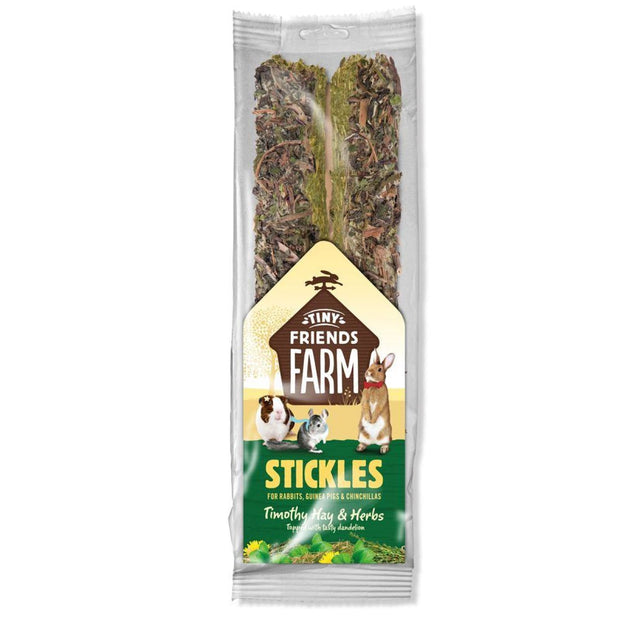 Supreme Stickles - Timothy Hay & Herbs - Treats & Chews