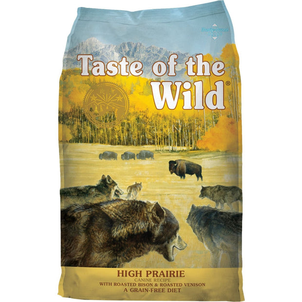 Taste of the Wild High Prairie Canine Recipe - 2.27kg - Dog