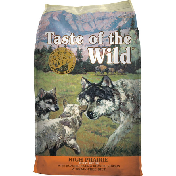 Taste Of The Wild High Prairie Puppy Recipe - Dog Food