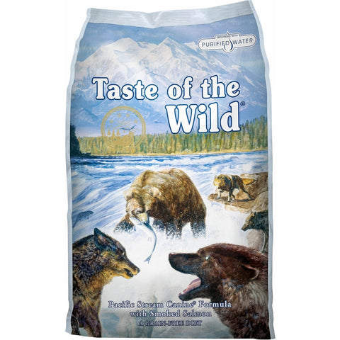 Taste of the Wild Pacific Stream Canine Recipe - 2.27kg -