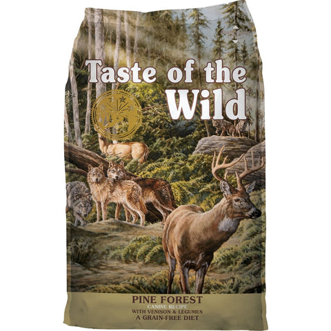 Taste Of The Wild Pine Forest Canine Recipe - 2.27kg - Dog