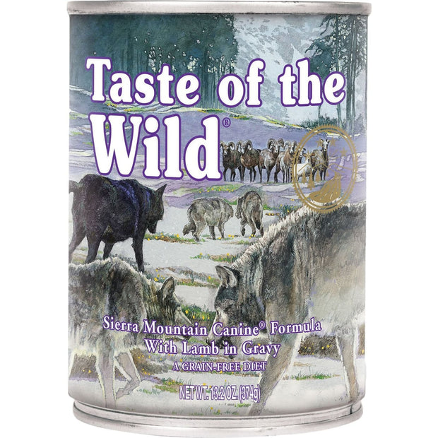 Taste Of The Wild Sierra Mountain Canine Formula (375g) -