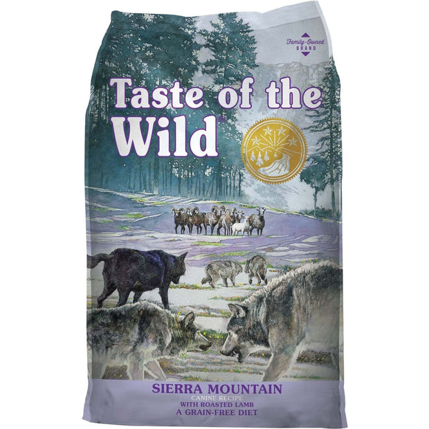 Taste of the Wild Sierra Mountain Canine Recipe - 2.27kg -