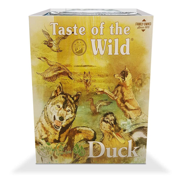 Taste of the Wild Wet Food DUCK Fruit & Veg Tray (390g) -