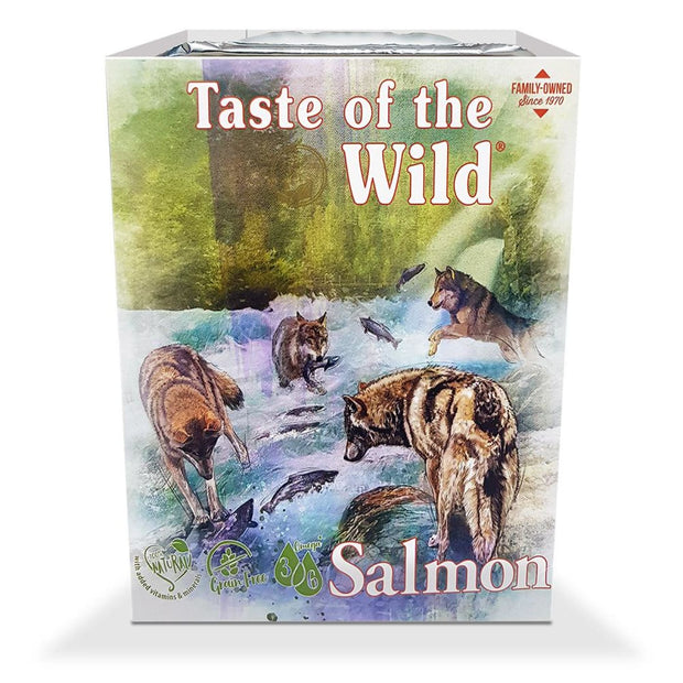 Taste of the Wild Wet Food SALMON Fruit & Veg Tray (390g) -