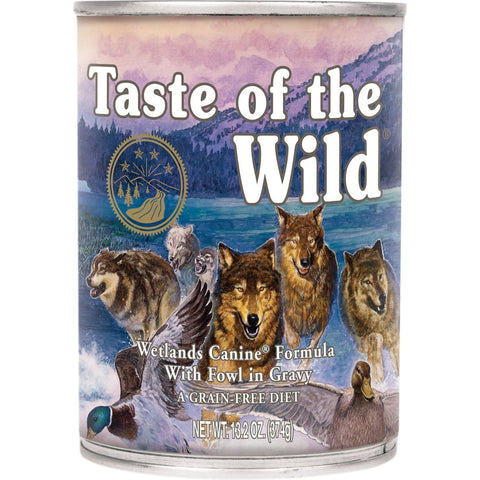 Taste Of The Wild Wetlands Canine Formula (375g) - Dog Food