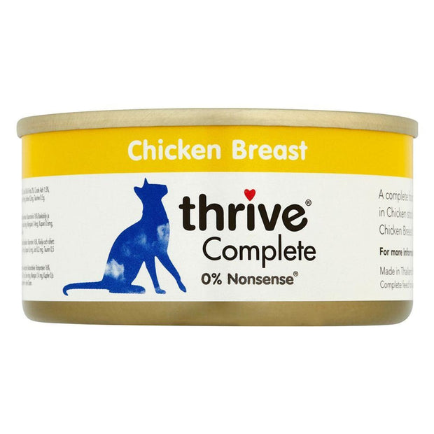 Thrive Cat Complete Chicken Breast 75g - Cat Food