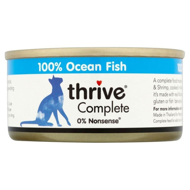 Thrive Cat Complete Ocean Fish 75g - Cat Food