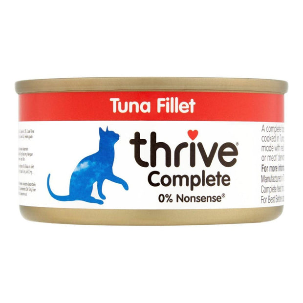 Thrive Cat Complete Tuna Fillet 75g - Cat Food