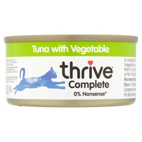 Thrive Cat Complete Tuna with Vegetables 75g - Cat Food