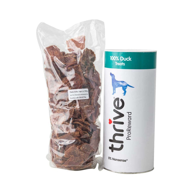 Thrive Pro Reward Duck Tubes 60g - Dog Treats
