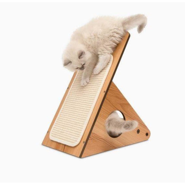 Vesper Cat Play Centre - Walnut - Scratchers & Poles