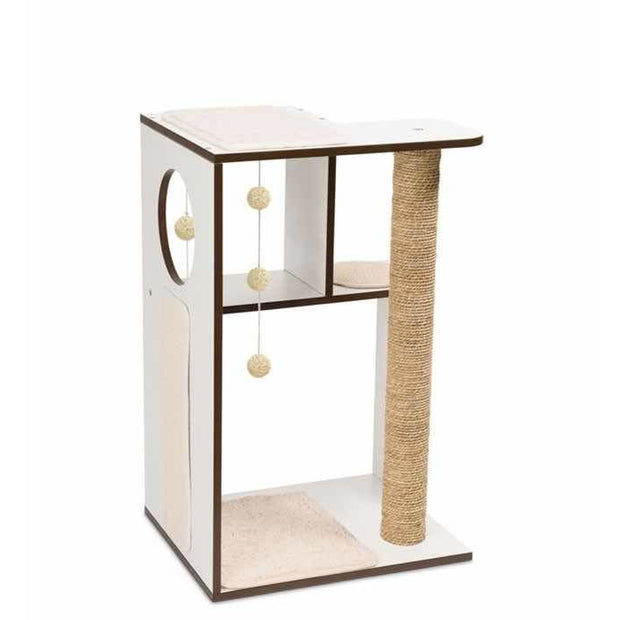 Vesper Design V-Box Large - White - Scratchers & Poles