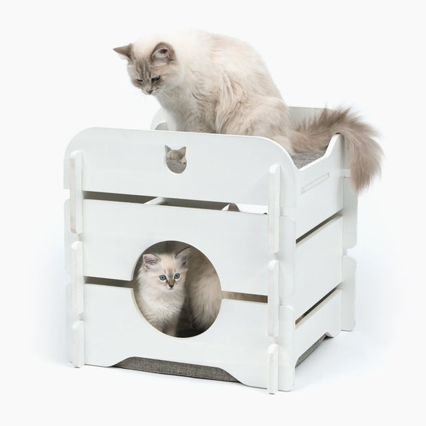 Vesper Premium Cat Cottage - Cat Beds & Carriers