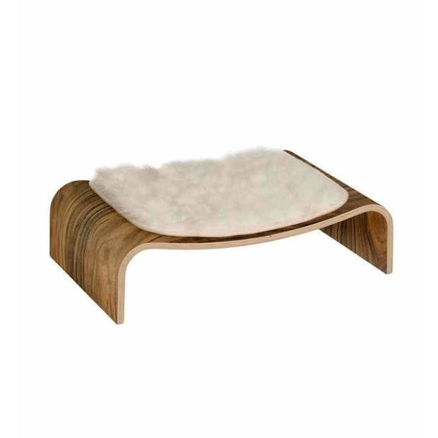 Vesper Premium Cat V-Lounge - Walnut - Cat Beds & Carriers
