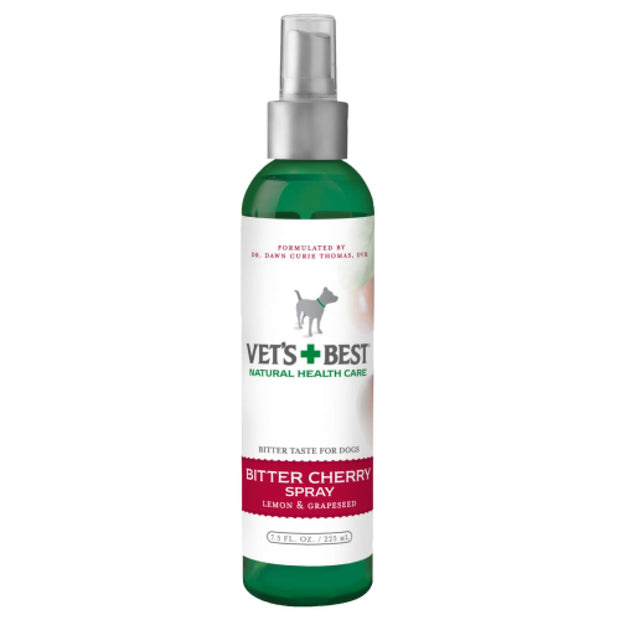 Vets Best Bitter Cherry Spray 7.5oz - Healthcare & Grooming
