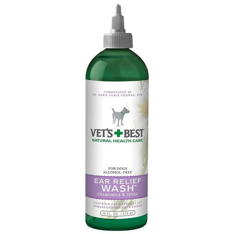Vets Best Ear Relief Wash for Dogs - Healthcare & Grooming