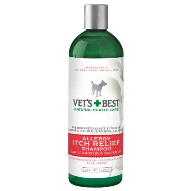 Vets Best Flea Itch Relief Dog Shampoo 16oz - Healthcare &